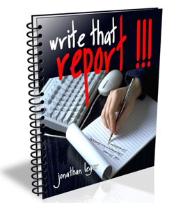How To Write An INCIDENT Report (repost of a previously published article)