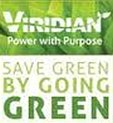Viridian, Save Green By Going Green